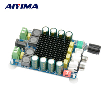 Aiyima TDA7498 Amplifiers Digital Stereo Power Audio Amplifier Board 2X100W Amplificador Dual Channel Speaker Impedance 8 ohms(China)