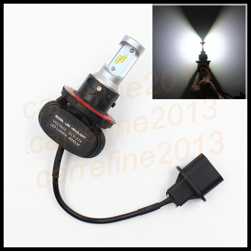 car led headlight conversion kits H4 H13 High/Low Beam 6000K h4 9003 hb2 LED Headlight 50W 8000LM h13 led Automobile Headlight<br>