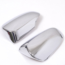For Toyota Camry 2012 2013 High-profile ABS Chrome Rearview Mirror Cover Car Mirrors Covers Trims Styling Auto parts 2pcs
