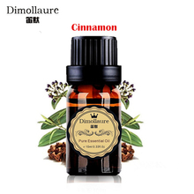 Dimollaure Cinnamon essential oil 10ml skin care SPA body massage Fragrance light Aromatherapy plant essential oil