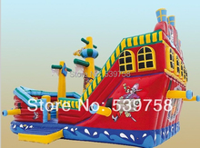 Guangdong manufacturers selling inflatable slides, inflatable castles, inflatable bouncer,Inflatable pirate ship