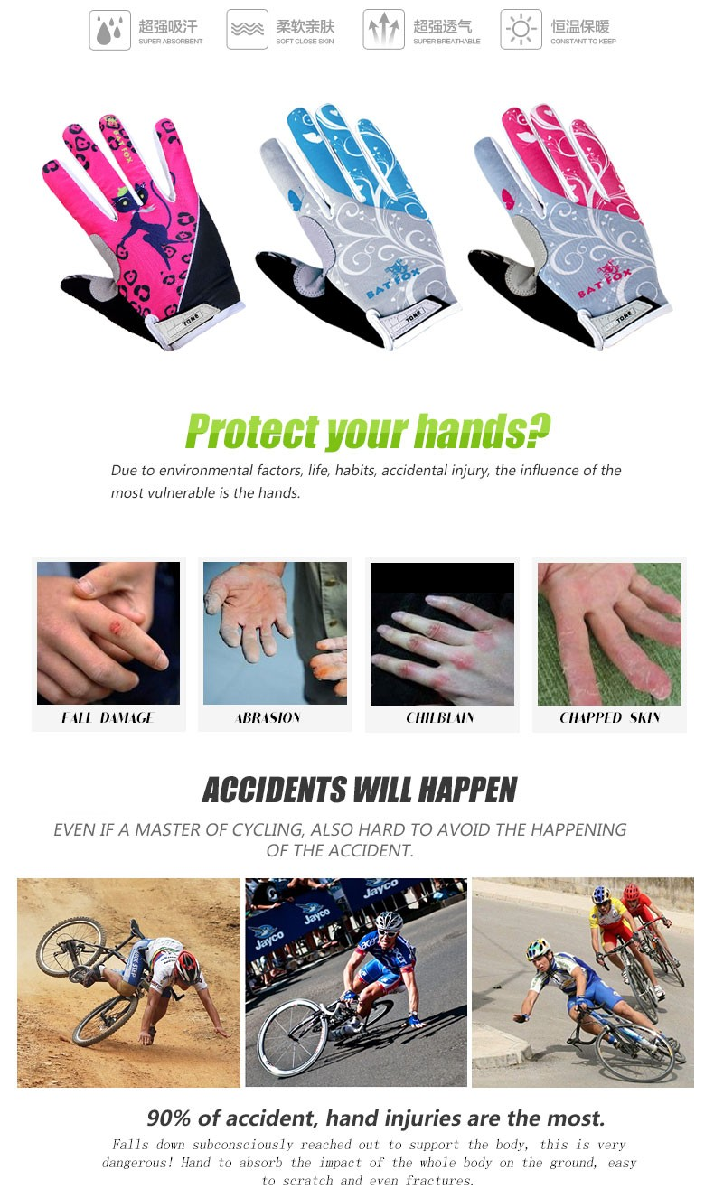 woman Cycling gloves_002