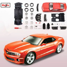 Maisto 1:24 2010 Chevrolet Camaro SS RS Assembly DIY Diecast Model Car Toy New In Box Free Shipping