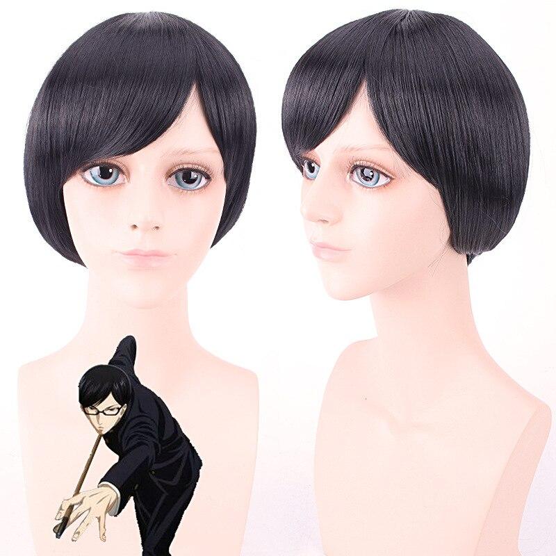 Under The Bridge.Ichinomiya Seki ,Short straight Black BOB fringe cosplay cos wig,859,heat resistant fibre.Free shipping<br><br>Aliexpress
