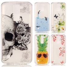 Buy Silicone Cover LG K8 Case Silicone Transparent Phone Case LG K8 Lte Silicone Soft Back Cover Cute Cartoon Anime TPU Slim Case for $2.90 in AliExpress store