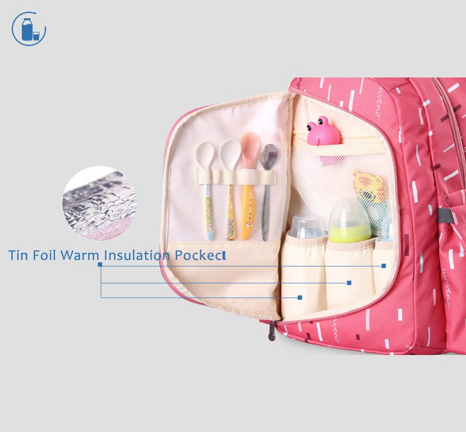 SUNVENO حقيبة مستلزمات الطفل 3