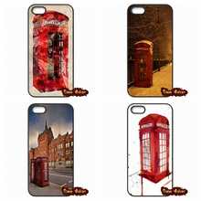 Red Telephone Box London Cases Cover For Sony Xperia Z1 Z2 Z3 Z3 Z4 Z5 Compact Mini M2 C C3 Huawei P6 P7 P8 Lite Blackberry Q10
