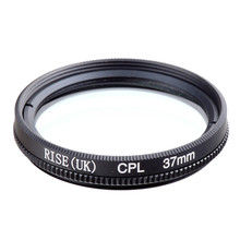 RISE(UK) 37MM CPL PL-CIR Polarizing Filter for DLSR 37mm lens free shipping(China)