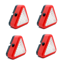 4 PCS Landing Auxiliary Lights Portable Emergency Lights for Mavic pro Phantom 4 pro /3 Inspire Quadcopter Landing Pad