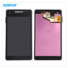 100% Brand New High Quality For Sony Xperia V LT25 LT25i LCD Display Digitizer Touch Screen Full Assembly Replacement Part+frame