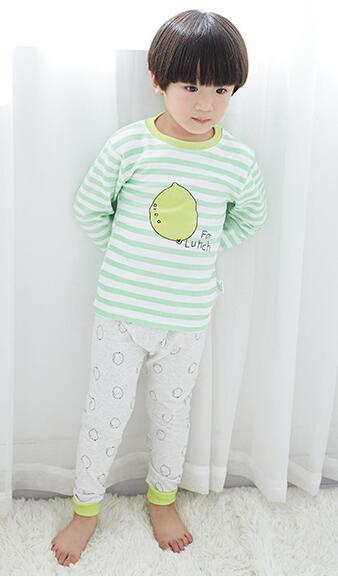 2017 pullover Cartoon adorable Boys Clothes Long Sleeve cotton Babys Sets 5137-5143<br>