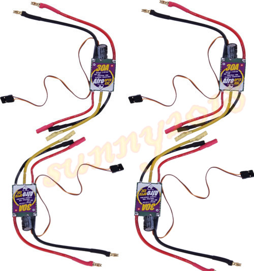 4pcs-Afro 30 A mp 2-6S OPTO ESC Speed Controller With SimonK Firmware<br><br>Aliexpress