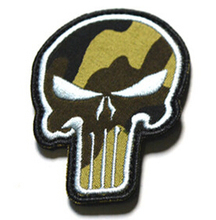 1 pcs logo Embroidered Magic Tape 3D US NAVY SEALS Badge Patch Skull Patches garment Appliques accessory