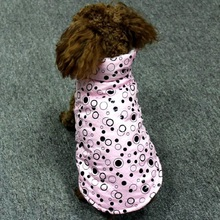 Dots Printed Dog Coat Jacket Winter Pet Dog Clothes For Small Dogs Puppy Chihuahua Pet Clothes Costume Outwear Clothing Apparel