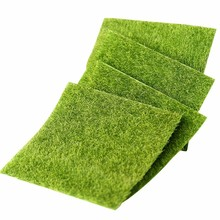 Simulation Micro Landscape DIY Mini Fairy Garden Artificial Fake Moss Flower Decorative Turf Plant Artificial Grass Lawns Carpet