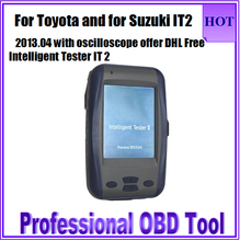 Sharply Discounts Intelligent Tester IT2 for TOYOTA for Suzuki with Oscilloscope Offer For Toyota it2 Auto Scan Tool Free DHL