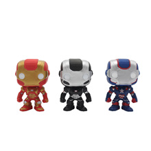 Chanycore Funko pop 3Color Marvel Avenger Iron Man Mark VII Anime Movie Vinyl  Action Figure Toys PVC Doll Collection Kids Toys