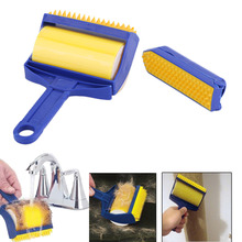 2Pcs Home Use Reusable Handheld Picker Lint Sticking Roller Pet Hair Remover Brush Lint Roller Pet Hair Cleaning Brush Roller(China)