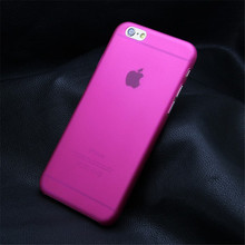 Hot Pink Color For iPhone 6 6s 7 4.7 inch Ultra thin Case Cover Hard Plastic Cover Case For iPhone 6S Plus 7 Plus 5.5 inch D