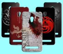 Ice and Fire Cover Relief Shell For Asus Zenfone 5 Cool Game of Thrones Phone Cases For Asus Zenfone 6(China)