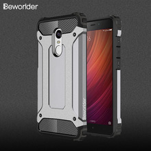 Beworlder For Xiaomi Redmi Note 4 Case Note 4X TPU and PC Hard ShockProof Protector Phone Cover For Xiaomi Redmi Note 4X Case(China)