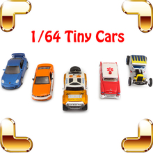 New Arrival Gift 1/64 Metallic Model Car Mini Vehicle Set Toys Cars Kids Favour Present Nano Learning Game Collection Toy