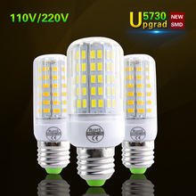 Lamparas SMD5730 Brighter Than 5736 LED Corn Lamp E27 220V 110V LED Bulb Spot Luz Ampoule LED Light Replace 20-120W Incandescent