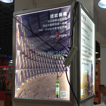 LED poster frame aluminum light box advertising product