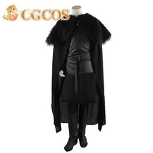 CGCOS Free Shipping Cosplay Costume Game of Thrones Full Set New in Stock Retail / Wholesale Halloween Christmas Party Unifrom