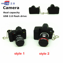 new mini Camera usb flash drive real capacity cartoon memory stick storage device Pen drive 4g/8g/16g/32g fashion gift
