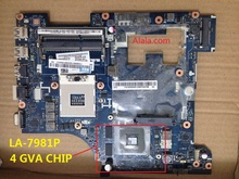 QIWG5_G6_G9 LA-7981P REV : 1.0 NEW laptop Motherboard For lenovo G580 NOTEBOOK PC With 4 VGA chip