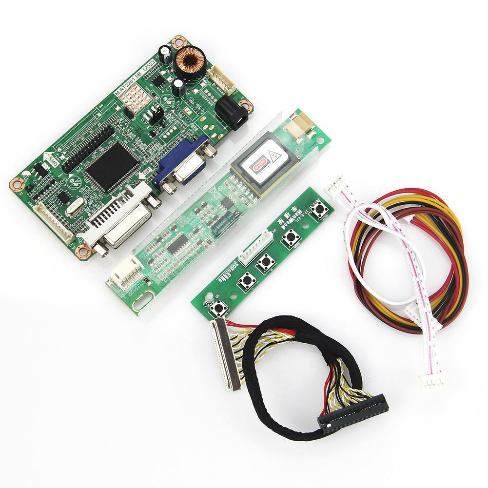 VGA+DVI M.RT2261 M.RT2281 LCD/LED Controller Driver Board  For LP154WX4-TLC1 B154EW08 1280x800 LVDS Monitor Reuse Laptop<br><br>Aliexpress