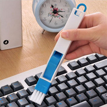 Multifunctional 2 In 1 Keyboard Nook Brush Window Groove Track Cleaning Brush Cranny Dust Shovel Home Kitchen Tools
