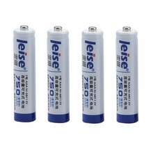 LEISE Standard Series Size 7 Ni MH Rechargeable Batteries 750mAh Suitable For Remote Control Toys/ Camera/ Microphone