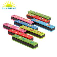 Harmonica Toy Baby Children Wood And Plastic Harmonica Educational Toy Children Gift Multifunction Toy Musical Instrument