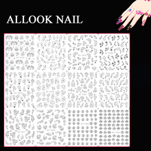 t Nail Art Decoration T313-324 Mix Silver Crown Star Nail Art Water Sticker Decal for Nail Art Tip12 Sheets/Lo