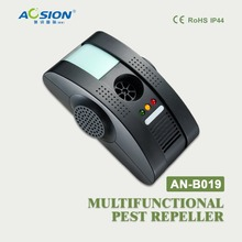 Aosion Ultrasonic mosquito fly repeller pest reject control Electromagnetic Waves + Anion + LED Night light with GS,BS,UL plug