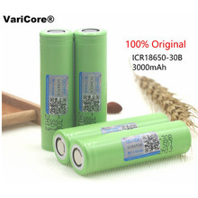 6 pcs. Varicore new original 3.7 V 3000 mAh 18650 rechargeable lithium battery. Battery flashlight; Battery for mobile devices