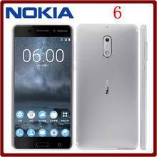Original Unlocked Nokia 6(2017)Octa Core 5.5 Inches 4GB RAM 32GB ROM 16.0MP+8MP Camera LTE 4G Dual SIM Refurbished Mobile Phone(China)