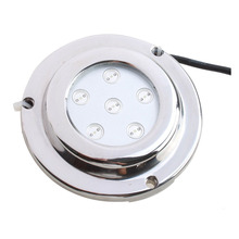 FSLH 6*1w Blue Stainless Steel IP68 Waterproof LED Marine Underwater Light Boat Yacht light