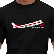 2017 New Trendy Hot sale Men High Quality Aeroclassic Boeing 747 Prototype Airliner Inspired retro t shirts Round Neck Crazy T