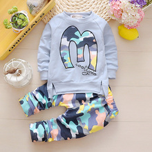 Buy Kids Clothes Set Baby Boys Girls Clothes Suit Toddler Boys Clothing Long Sleeve Tshirt Pants Casual Tracksuits Children Clothes for $8.94 in AliExpress store
