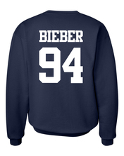 Justin Bieber 94 letter print sweatshirt men fleece harajuku brand tracksuit 2017 autumn male top streetwear hip-hop hoodies mma