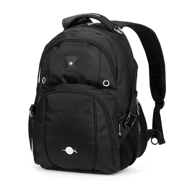 Suissewin swiss brand designer 15.6  inch waterproof men backpack casual fashion travel school laptop backpack sn8071<br>
