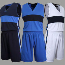 Throwback Basketball Uniforms Professional Training Basketball Sets Clothes Sleeveless
