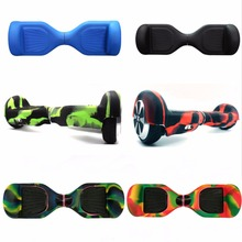 "New Skateboard 6.5"" Hoverboard Silicone Case/Shell Pedal/Hollow Full/Half 2 Wheels Smart Self-Balancing Electric Scooter Covers(China)"