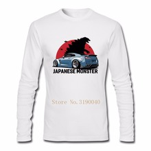 JDM T Shirt Nissan Silvia S13 200SX 240SX Mens Top Tees T-Shirts Long Sleeve Cotton Men's T Shirt(China)