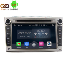 2G RAM Octa Core Android 6.0 Car DVD GPS Fit For Subaru Outback Legacy 2009 2010 2011 2012 Carens Bluetooth Radio 4G Navigation(China)