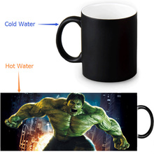 The Avengers Hulk cups home decal changing color mug heat disappearing incredible hulk mug