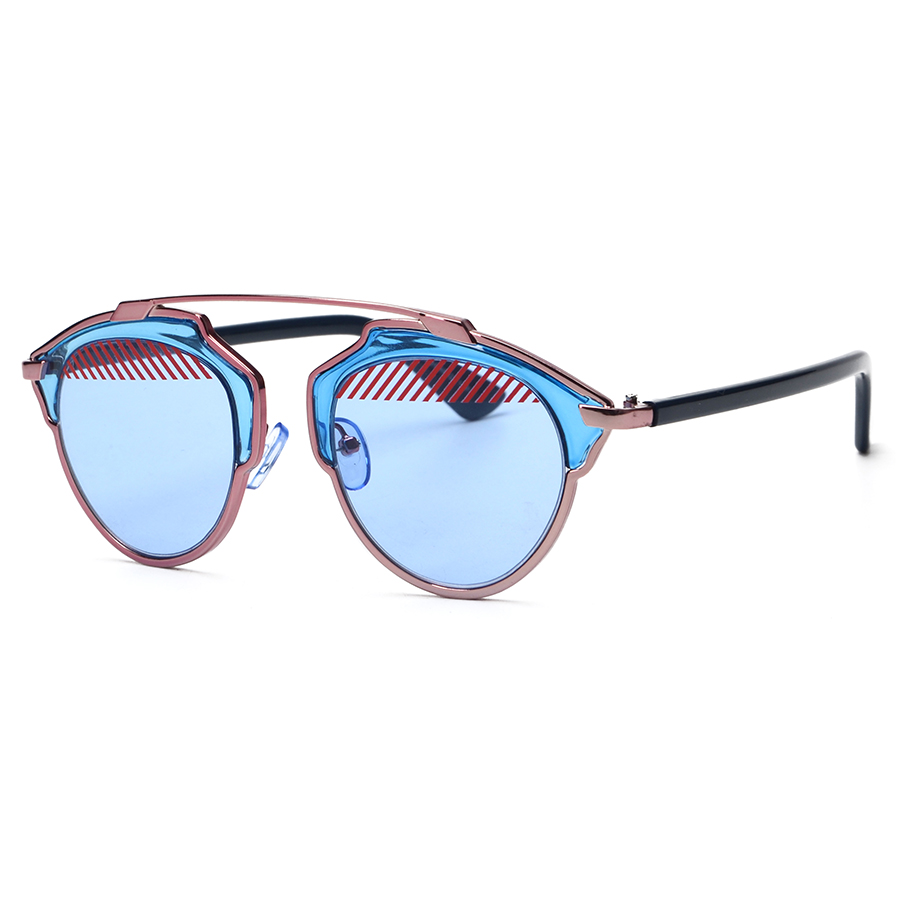 New Style Arrived ! Metal Wrap Cat Eye Glasses 2015 New Vintage Fashion Summer Cool Sunglasses Women Men Brand Designer<br><br>Aliexpress